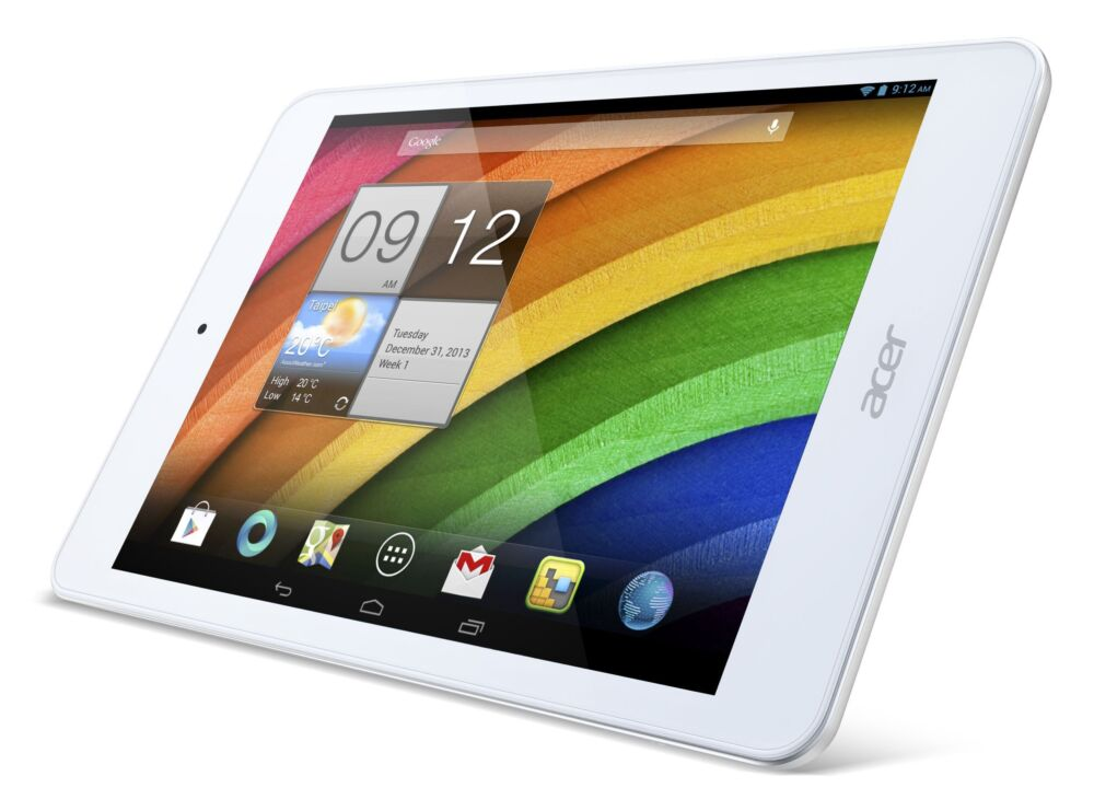 Acer Iconia A1-830 : une tablette performante à 169€